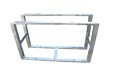 600mm Flowered Stainless Steel Toolbox Frame