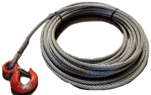 12mm x 21m W/Rope with hook (12,000lb electric winch)