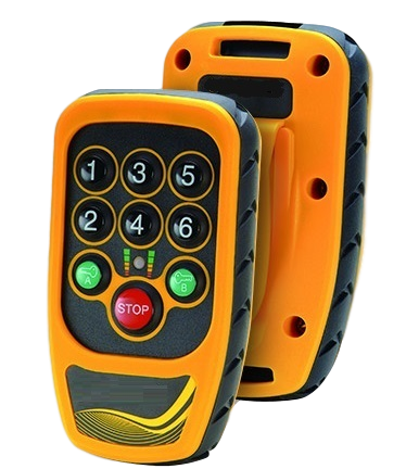 Winch Remote Control Unit and Handset
