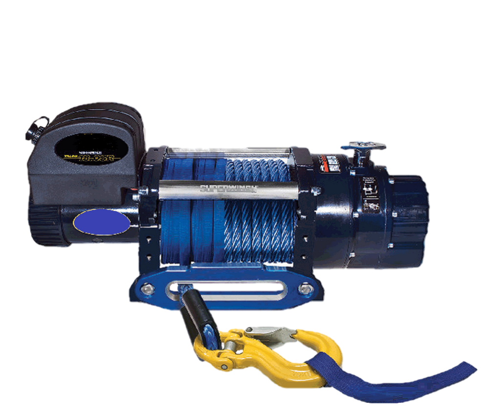 18000lb Electric 24V Winch complete with rope