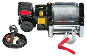 12000lb Electric Worm Drive Winch