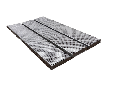 Sterling Fold Out Handrail - 3 Steel Walkway Boards