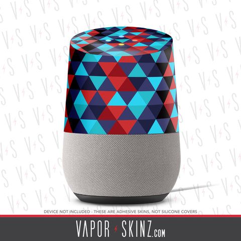 Abstract 5 Google Home Skin - Vapor Skinz