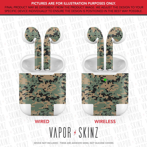 Woodland Digi Camo APPLE AIRPODS Skin