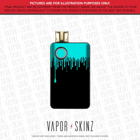 Black Blue Drip PAL 2 Skin