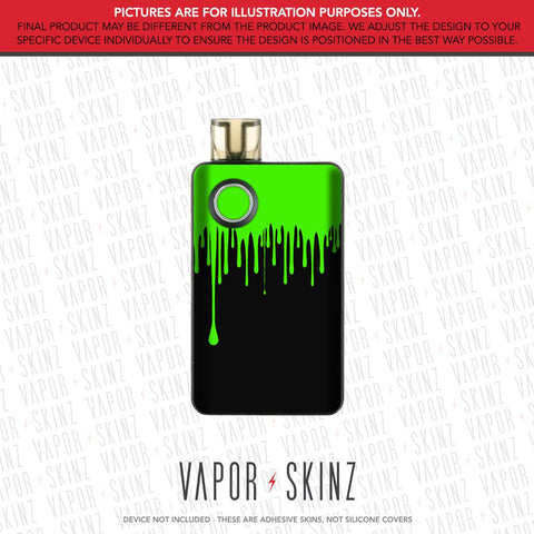Black Green Drip PAL 2 Skin