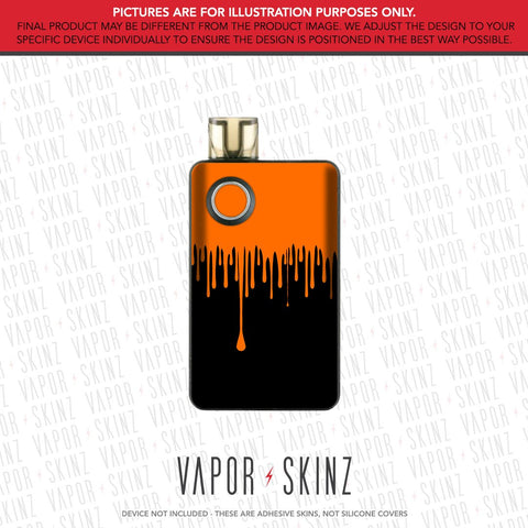 Black Orange Drip PAL 2 Skin