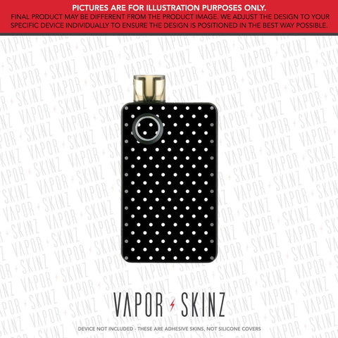 Black Polka Dots PAL 2 Skin