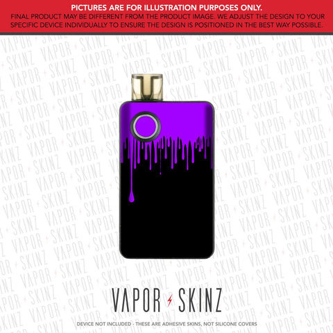 Black Purple Drip PAL 2 Skin