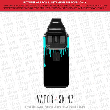 Black Blue Drip BREEZE 2 Skin