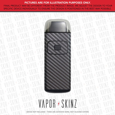 Gunmetal Carbon Fiber BREEZE Skin