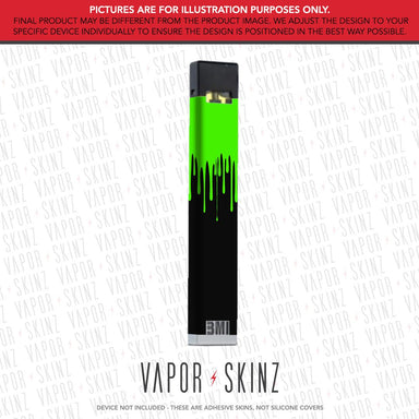 Black Green Drip BMI NANO Skin