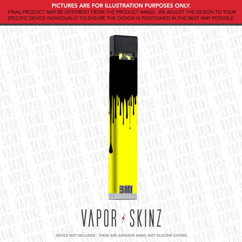 Yellow Black Drip BMI NANO Skin