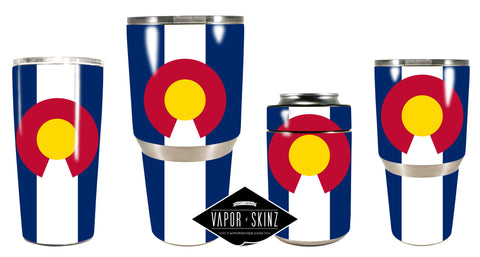 COLORADO FLAG - Vapor Skinz