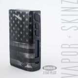 Rusted BW USA Flag - Vapor Skinz