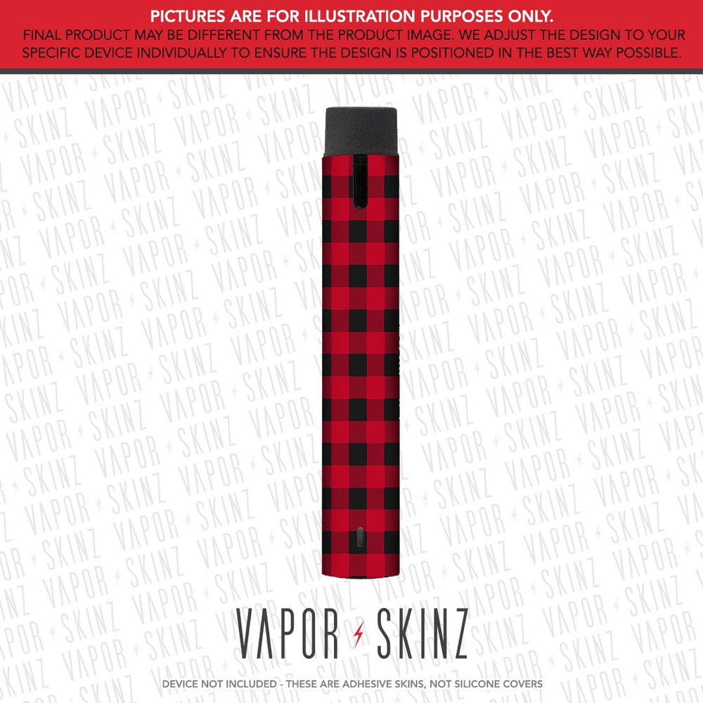Red Plaid GHOST Skin