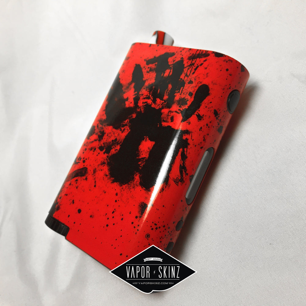 Red Black Splatter - Vapor Skinz