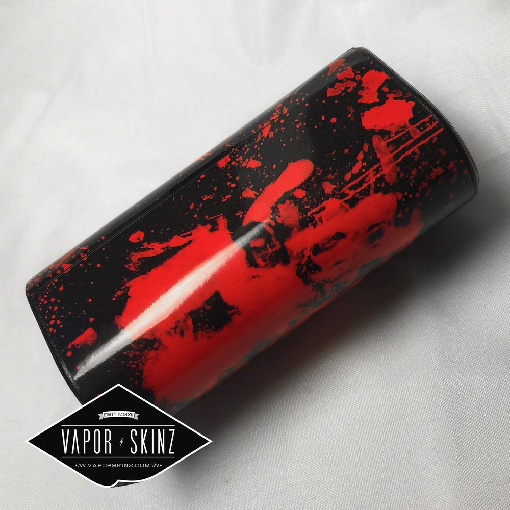 Black Red Splatter - Vapor Skinz