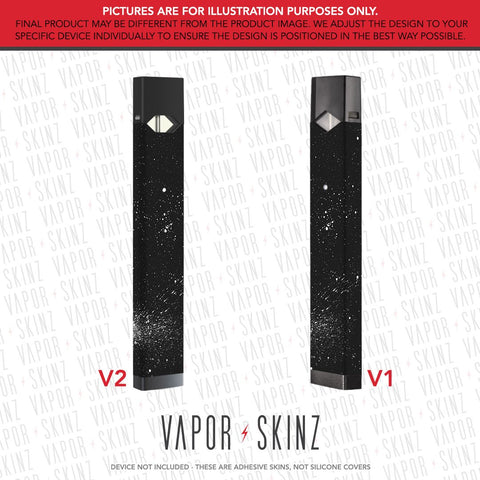 Black Red Marble JUUL Skin