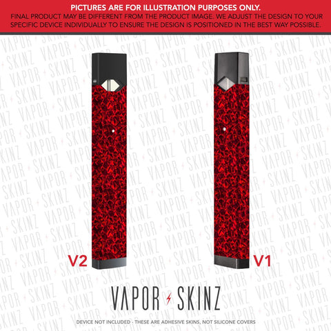 Red Diamonds JUUL Skin