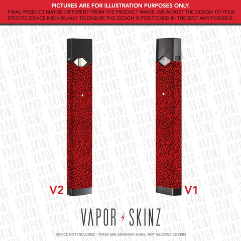 Red Elephant JUUL Skin
