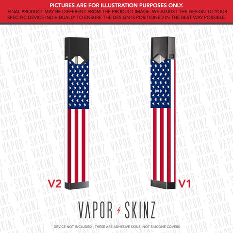 USA Flag JUUL Skin