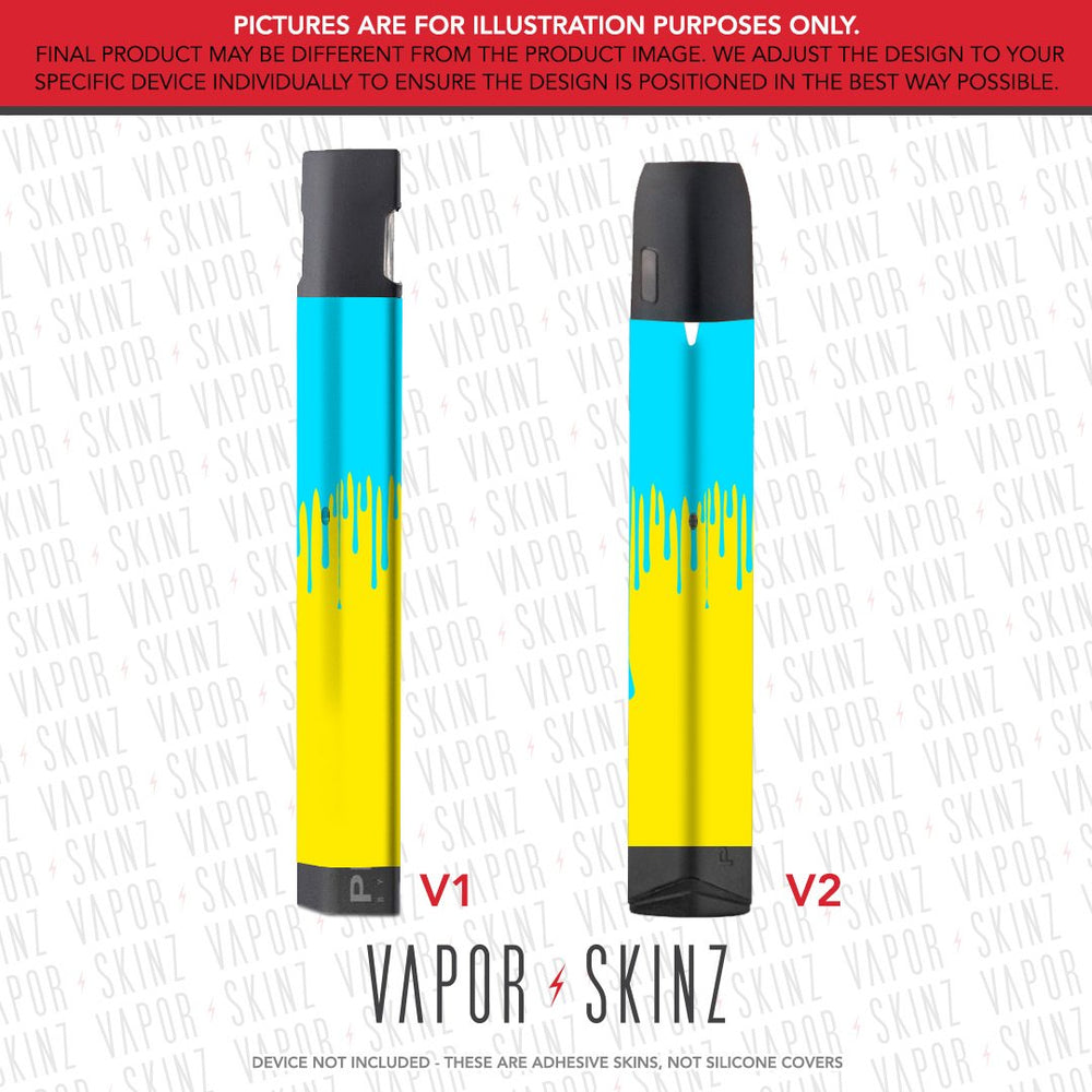 Yellow Blue Drip PHIX Skin