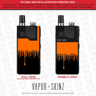 Black Orange Drip ORION DNA GO Skin