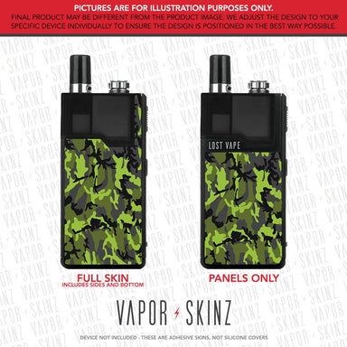 Black Green Camo ORION DNA GO Skin
