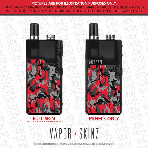 Black Red Camo ORION DNA GO Skin