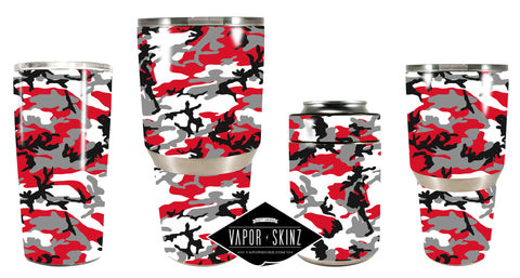 RED GRAY CAMO - Vapor Skinz
