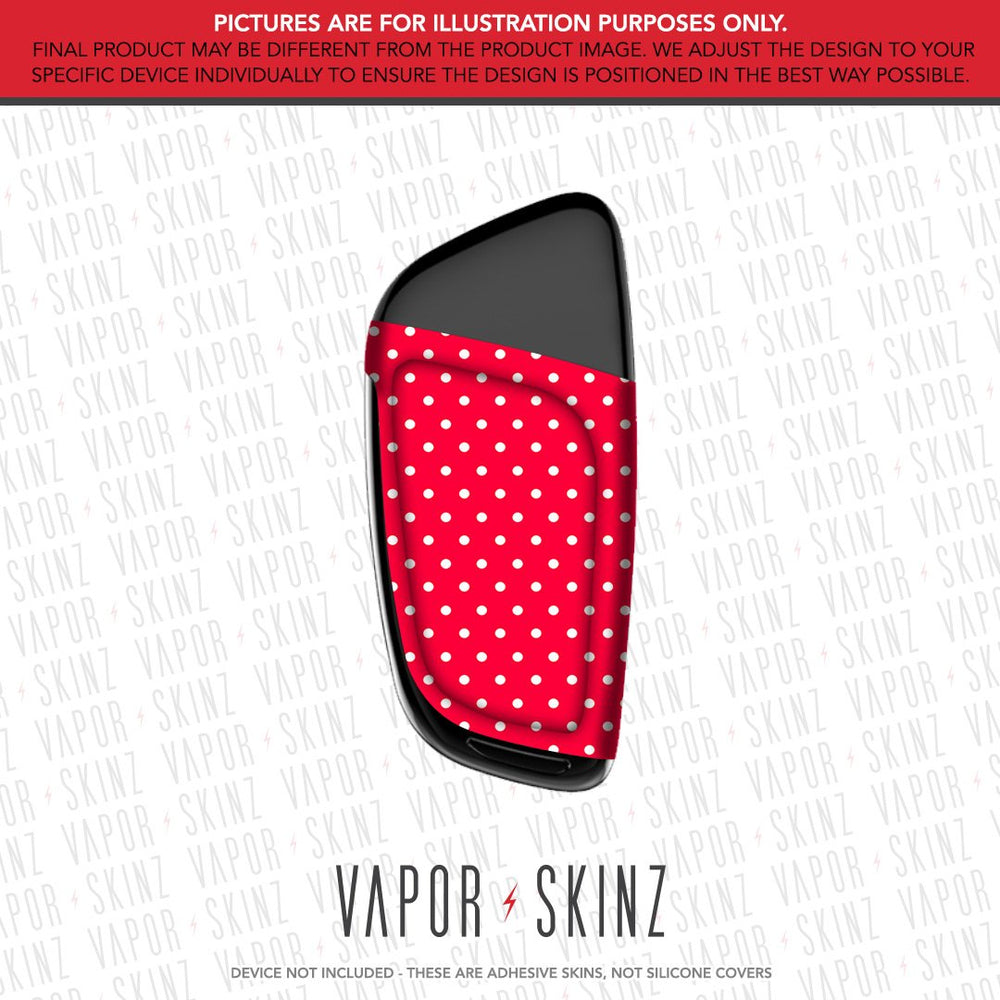 Red Polka Dots CETO Skin