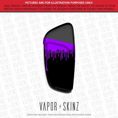 Black Purple Drip CETO Skin