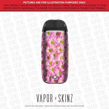Pink Daisies SMPO Skin
