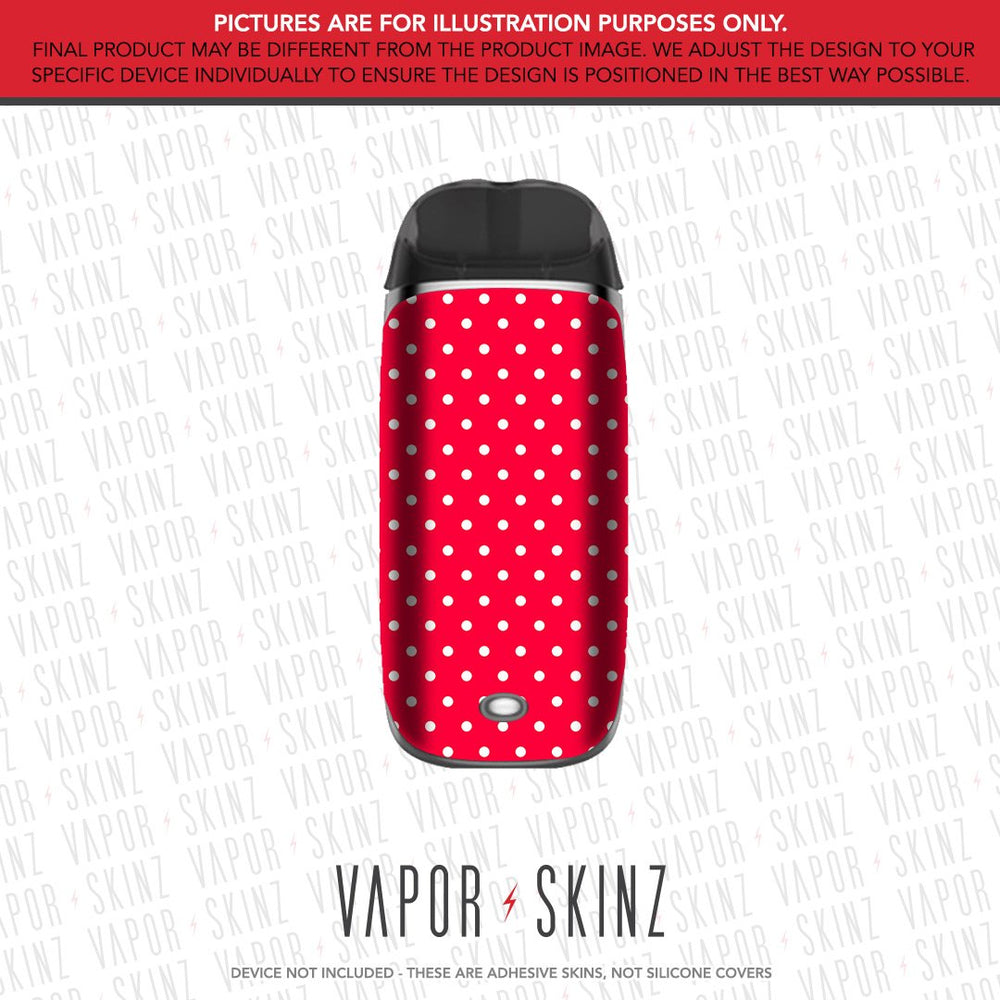 Red Polka Dots SMPO Skin