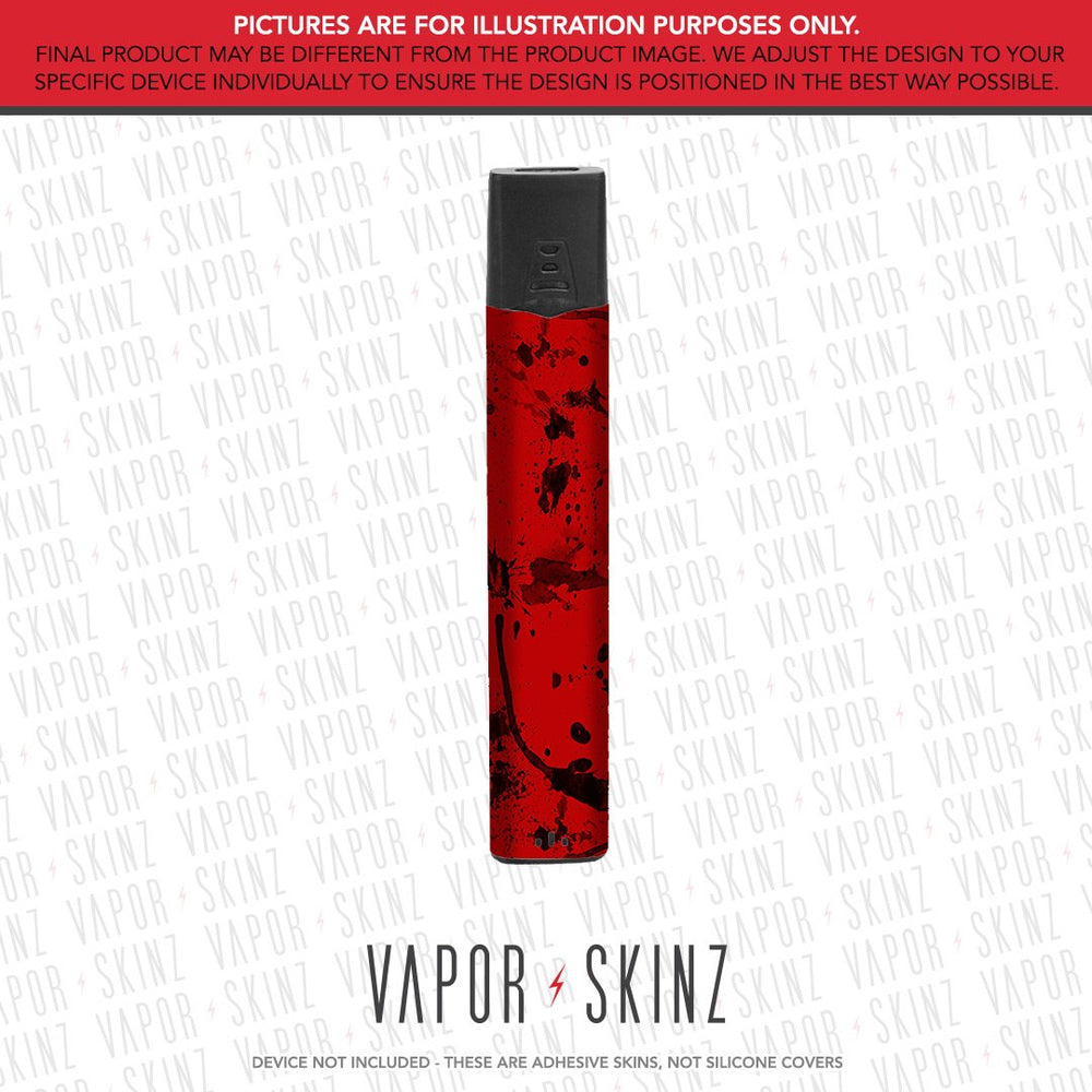 Red Black Splatter FUCHAI V3 Skin