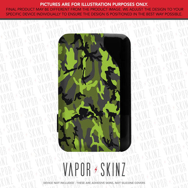 Black Green Camo SLIK Skin