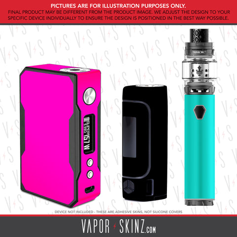Box Mods Solid Color Skinz - Vapor Skinz
