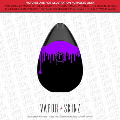 Black Purple Drip SUORIN DROP Skin