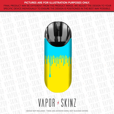 Yellow Blue Drip MOTIV 2 Skin