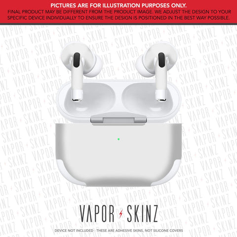 COLOR 37 LIGHT GRAY APPLE AIRPODS PRO Skin