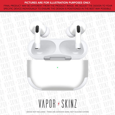 COLOR 38 WHITE APPLE AIRPODS PRO Skin