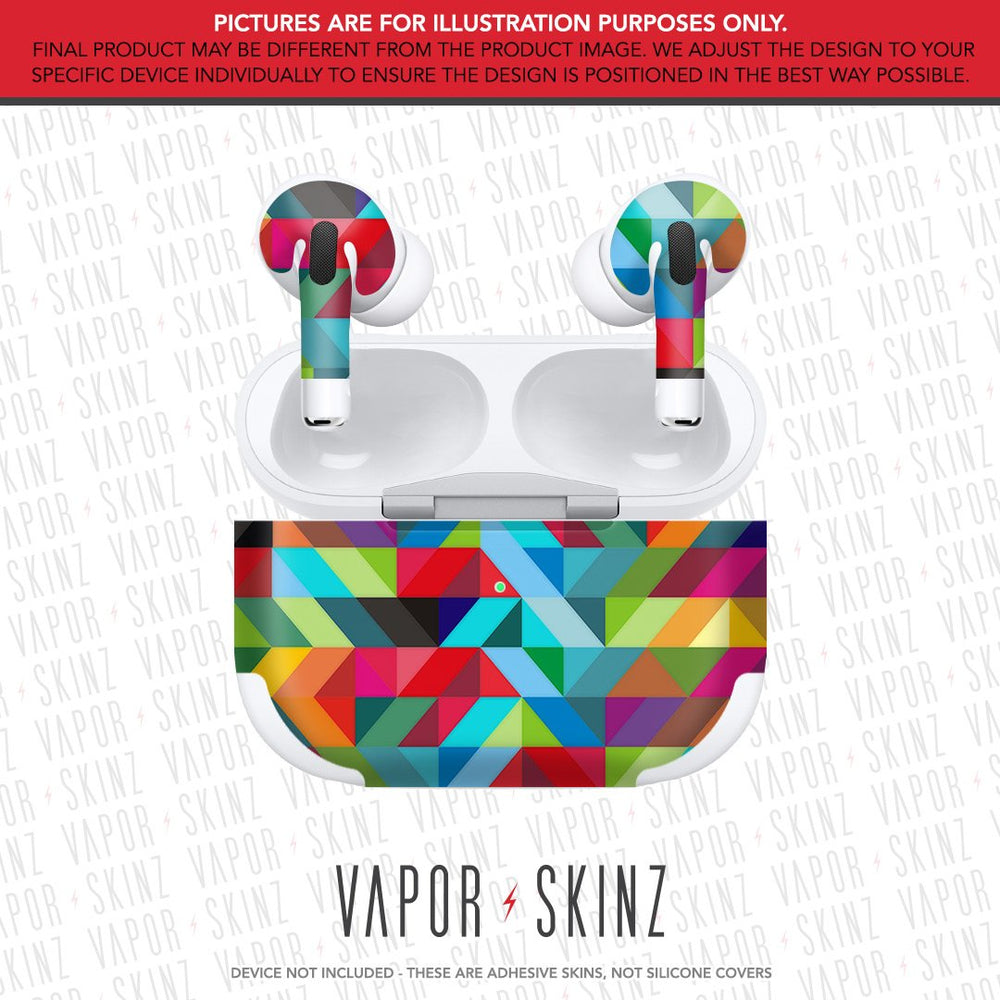 Abstract APPLE AIRPODS PRO Skin