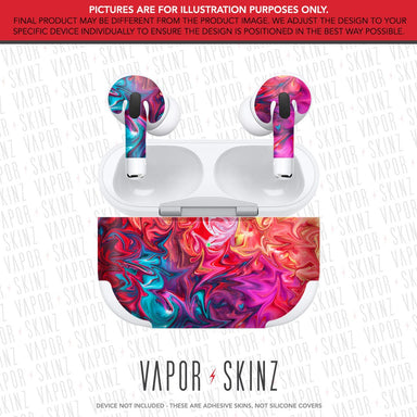 Abstract 2 APPLE AIRPODS PRO Skin
