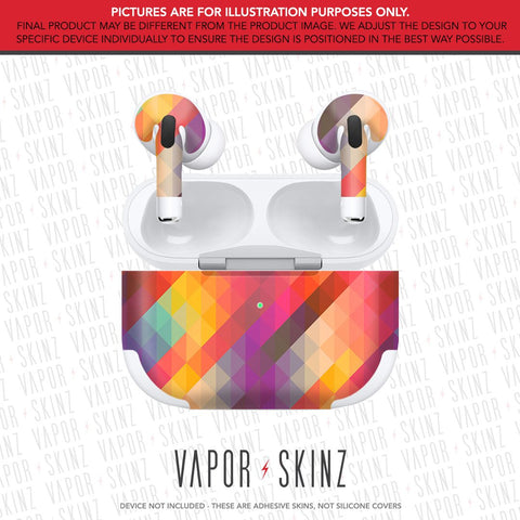 Abstract 8 APPLE AIRPODS PRO Skin
