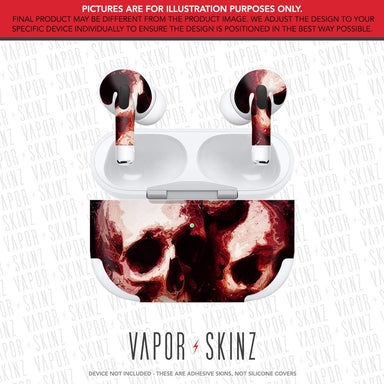 Blood Skulls APPLE AIRPODS PRO Skin