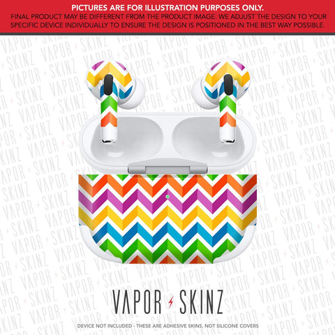 Candy Chevron APPLE AIRPODS PRO Skin
