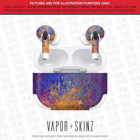 Colorful Rust APPLE AIRPODS PRO Skin