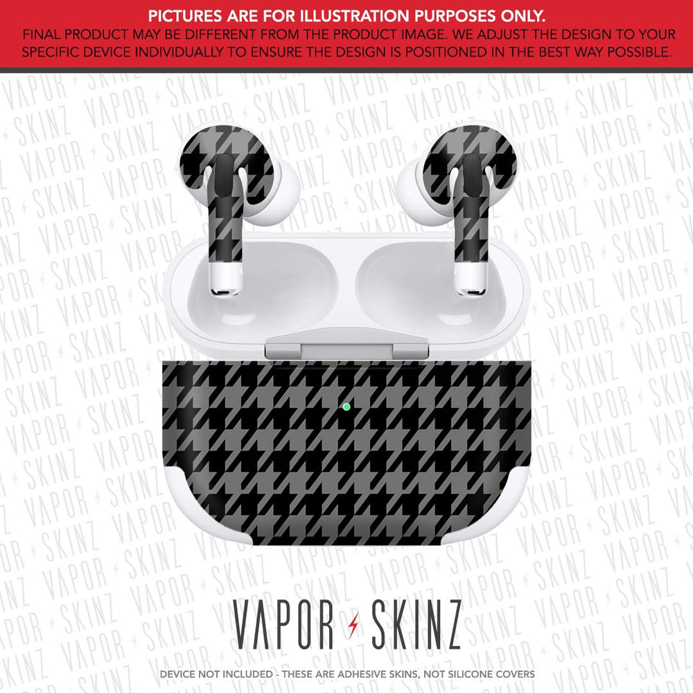 Gray Houndstooth APPLE AIRPODS PRO Skin