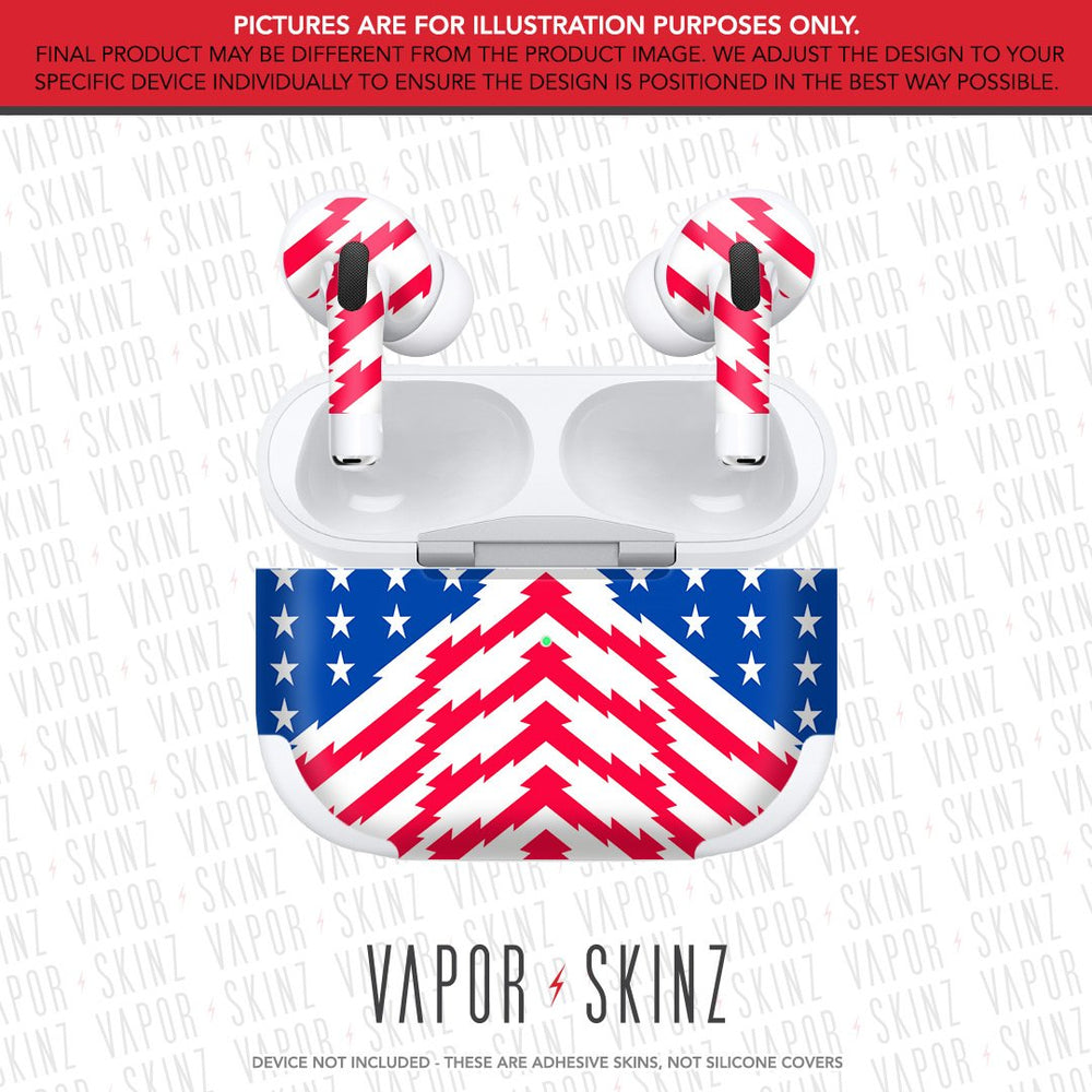 RAD USA Flag APPLE AIRPODS PRO Skin